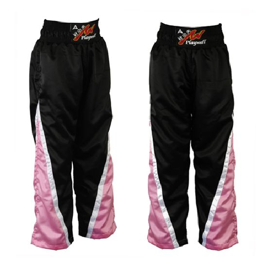 Full Contact Competition Champion Trousers - Black/Pink