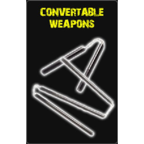 Convertable Weapons