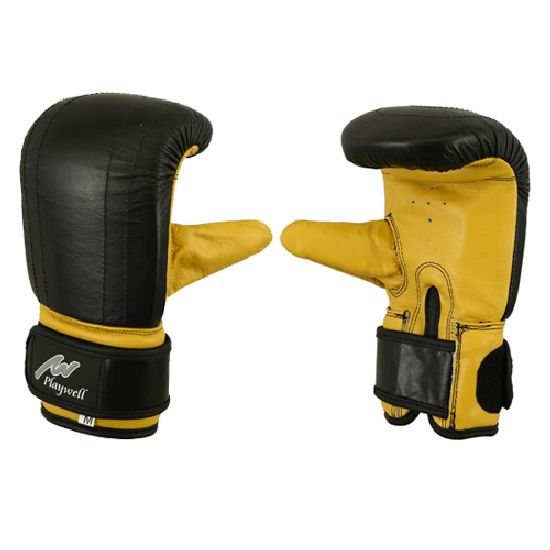 Delxue Leather Bag & Pad Work Gloves - Xmas Special Offer