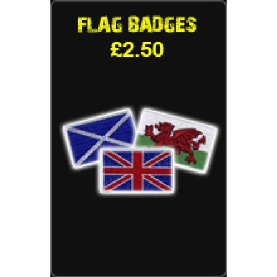 Flag Badges £2.50