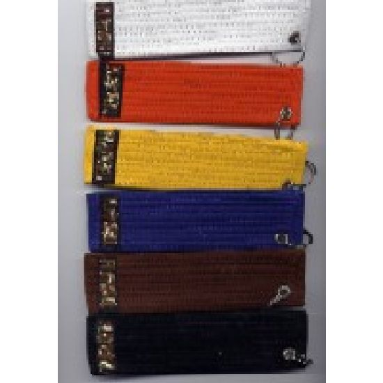 Grading Belt Keyrings