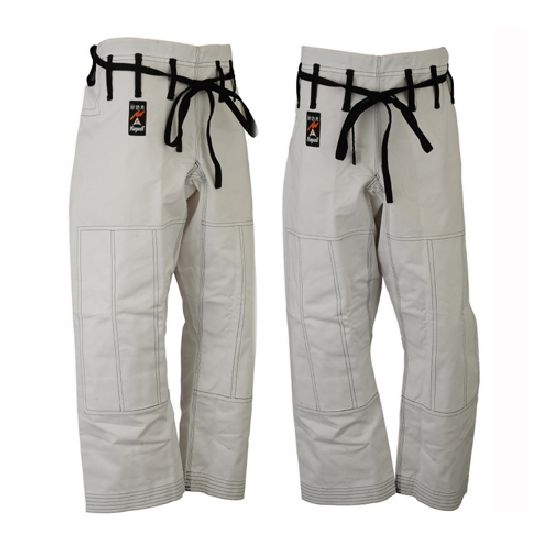 Martial Arts White Ju Jitsu Trousers