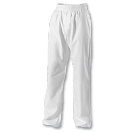 Karate Trousers: White