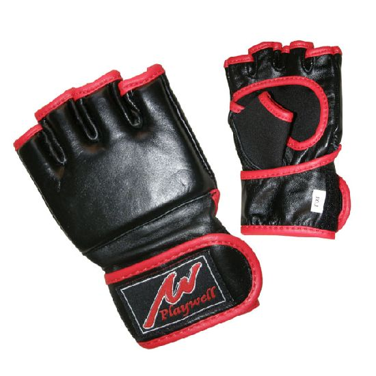 Childrens Leather MMA Gloves