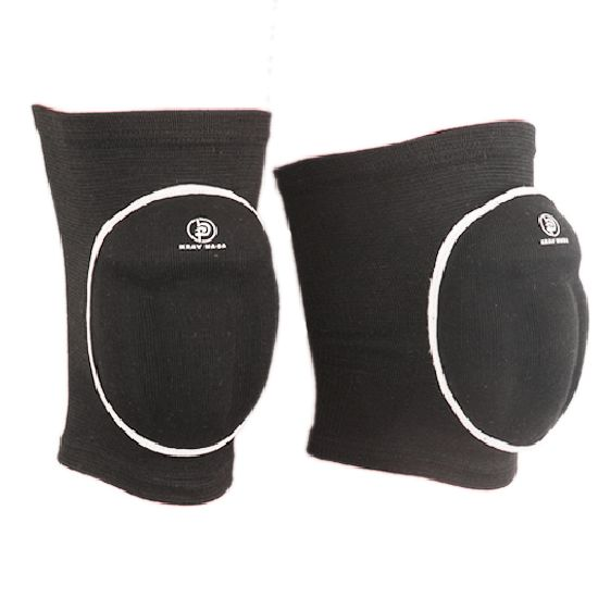 Krav Maga Black Padded Knee Pads
