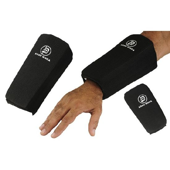 Krav Maga Black Full Contact Double Forearm guard