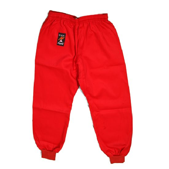 Kung Fu Trousers : Cotton Red