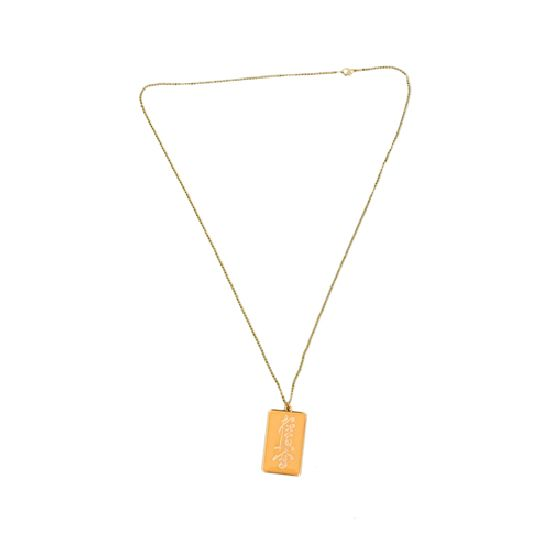 KyuKoushin Gold Plated Necklace