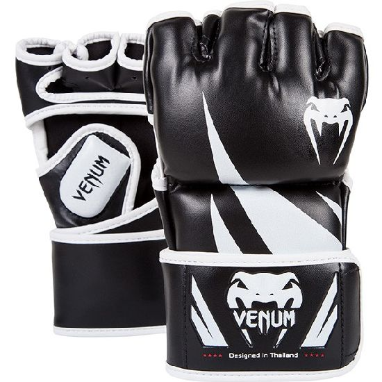 Venum MMA Black Challenger Fight Gloves - 4oz