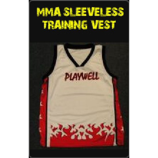 MMA Sleeveless Training Vest