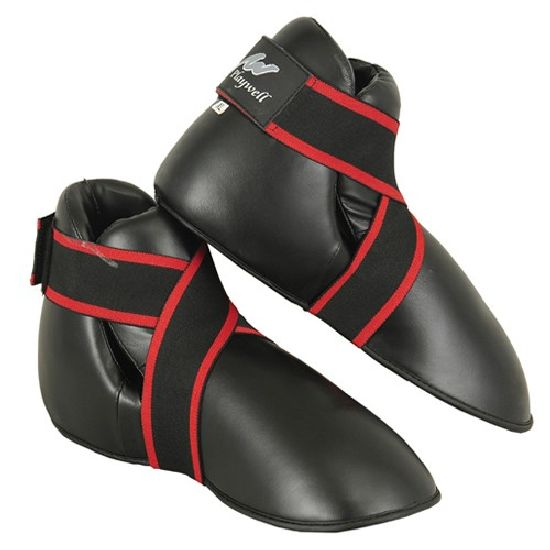 Competition Semi Contact Sparring Boots - Black