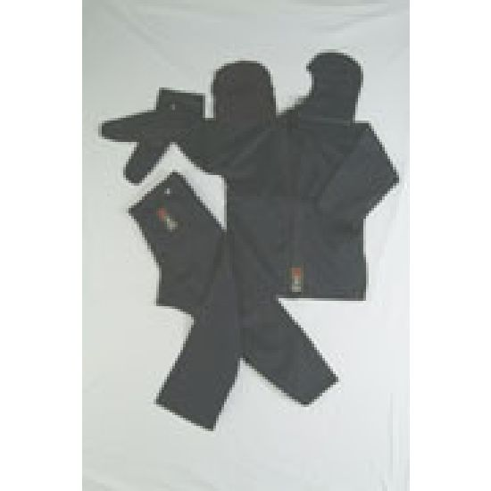 Ninja Uniform: Black - 100% Satin