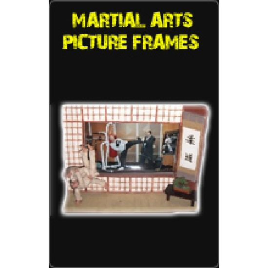 Martial Arts Picture Frames