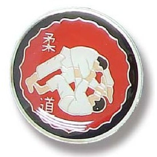 Judo Lapel Badge 11