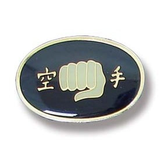 Karate Fist Lapel Badge 9