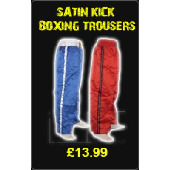 Satin Kick Boxing Trousers