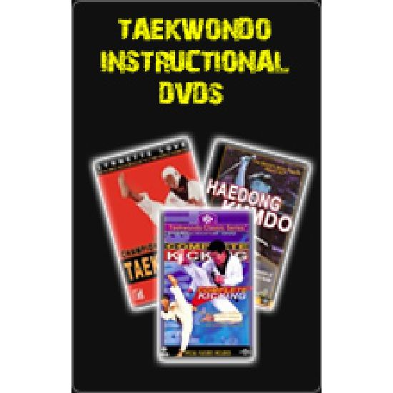 Taekwondo Instructional Dvds