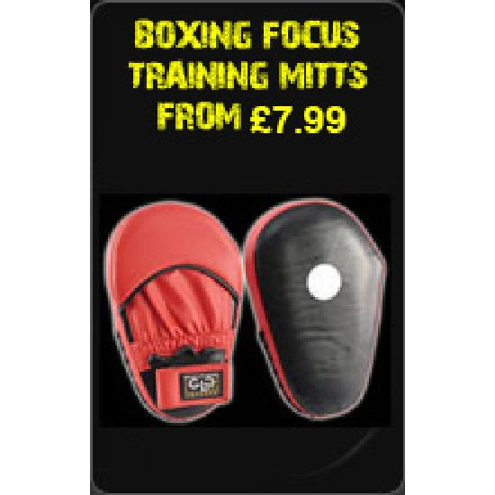 Boxing Focus Training Mitts From £7.99