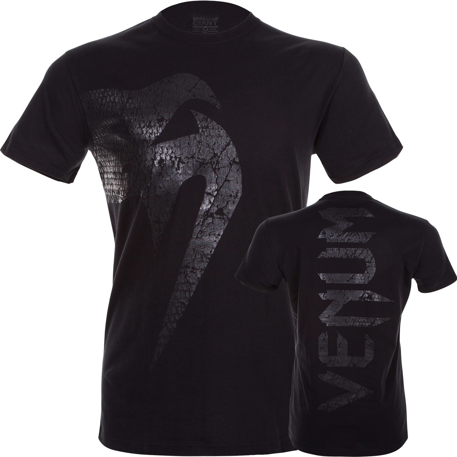 Venum MMA Matte Black Giant T Shirt - NEW!