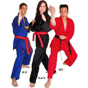 Martial Arts V-Neck Pull Over Uniform - Special offer