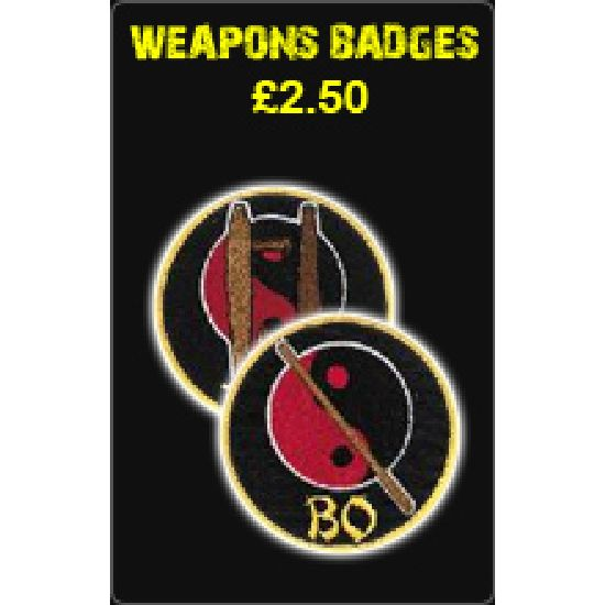 Weapons Badges £2.50