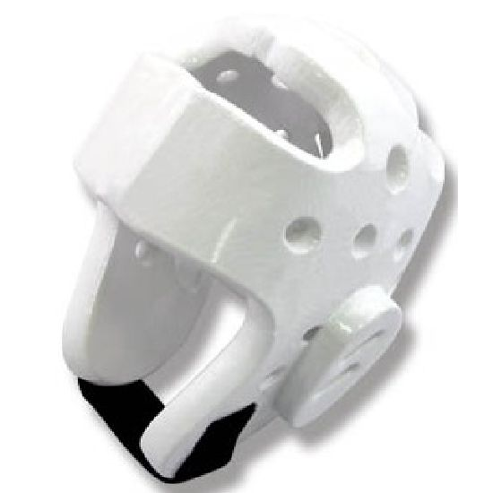 WTF Approved White Dipped Foam Head Guard - Large Special offer