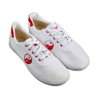White Kung Fu / Wushu (Yin/Yang) Shoes