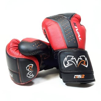 Rival Boxing RB10 Intelli Shock Bag Gloves - Red