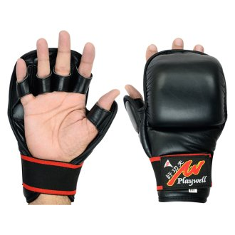 MMA Sparring Shooto All Leather Glove -...