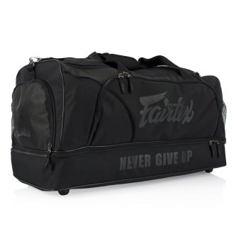 Fairtex Black Heavy Duty Large Gym Bag