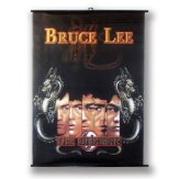 Large Bruce Lee Wall Poster Scroll: NO9