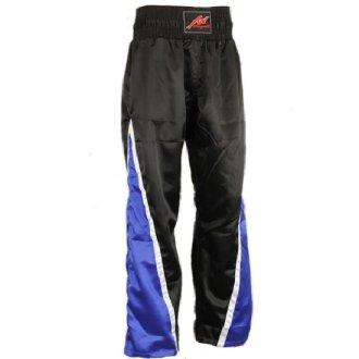 Full Contact Competition Champion Trousers - Black/Blue