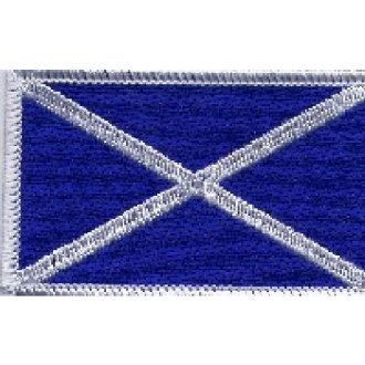 Scottish Flag Patch