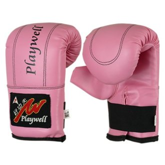 Childrens Pink Bag Gloves / Mitts Ages...