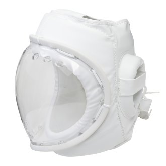 Kudo White Headguard: Full Mask CE Approved