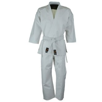 Kids Karate Polycotton Suit - White 7oz