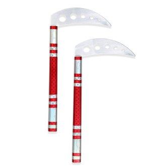 Martial Arts Weapons, Kamas, sais, octagonal, round