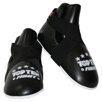 Top Ten Semi contact Point Sparring Boots - Black