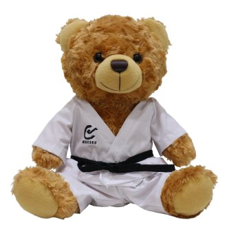 Childrens Karate Plush Teddy Bear