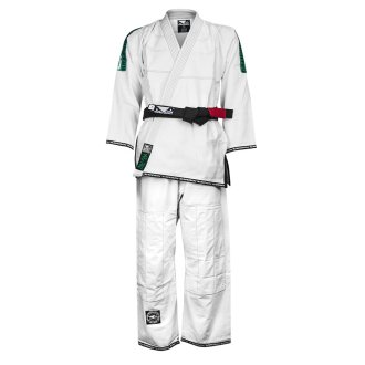 "Bad Boy MMA Competition White ""Ripstop"" Ju Jitsu Gi"
