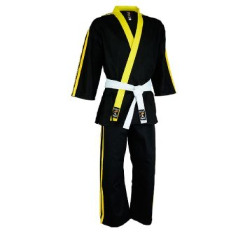 Striped Team Uniform Series V1 - Black/Yellow