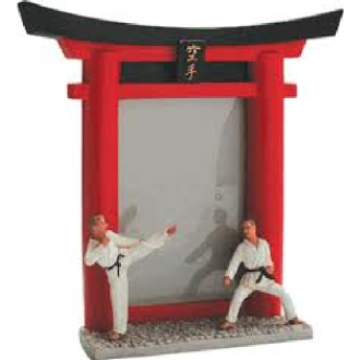 Photo Frame: Resin: Karate