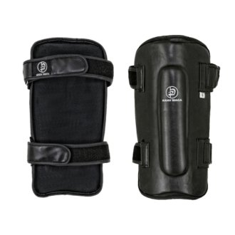 Krav Maga Deluxe Black Leather Shin...