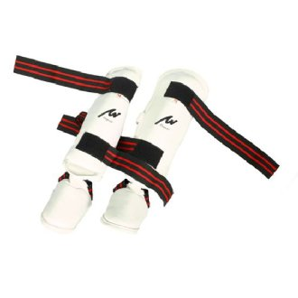 Elite 3 in 1 Shin-Instep Guard - White - Special Offer