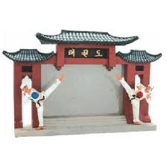 Photo Frame: Resin: Taekwondo