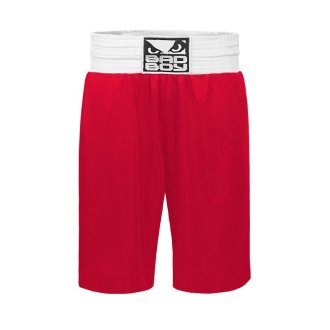 Bad Boy Pro Boxing Shorts - Red