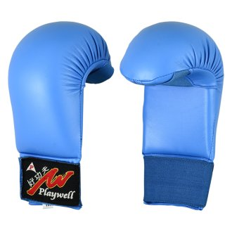 Deluxe Competition Vinyl Karate Mitts
