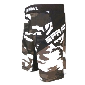 Sprawl Fusion 3 Series Fight Shorts -...