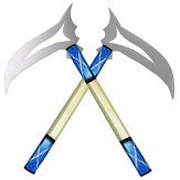 Competition / Demo Kamas - Silver/Blue - 00989