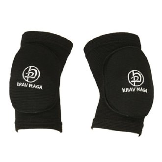 Krav Maga Black Padded Elbow Pads